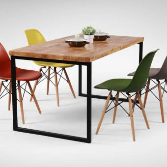 Ricky Dining Table w/ Butcher Top – Customisable