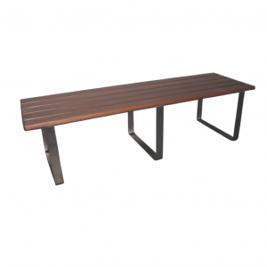 Bourne Bench – Stainless Steel