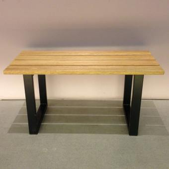 Bourne Bench – Black Steel