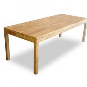 Column Dining Table w/ Butcher Top – Customisable