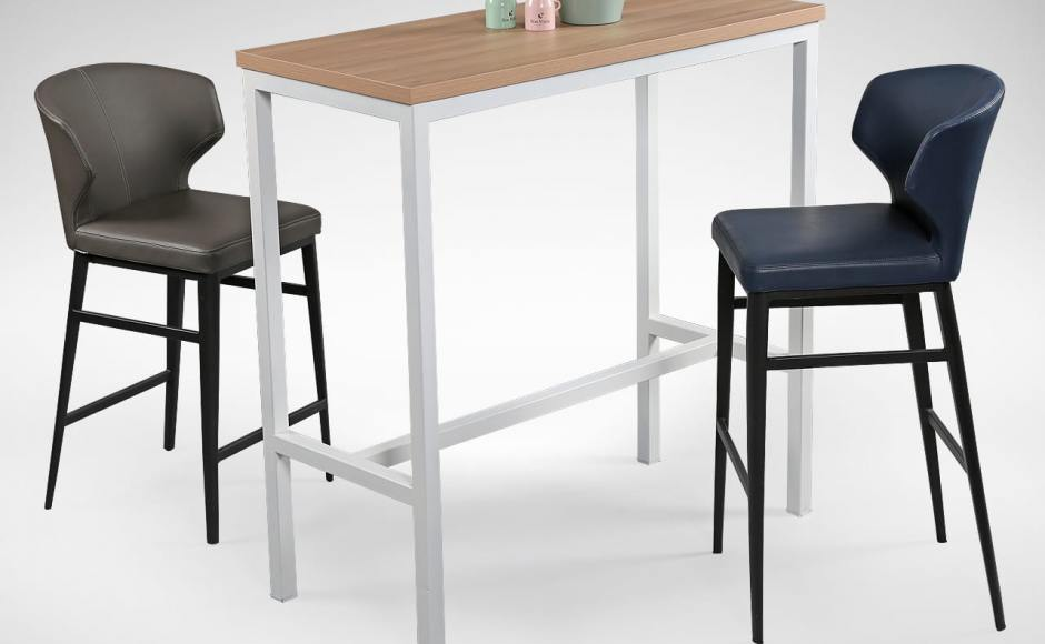 Match with [Decker Bar Table & Elephant Barchair – SH650]