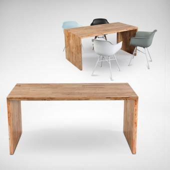 Panel Dining Table w/ Butcher Top – Customisable