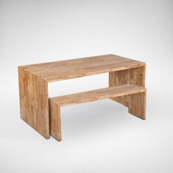Panel Bench w/ Butcher Top – Customisable