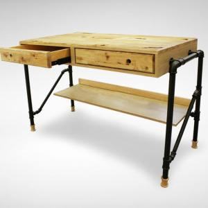 Pipe Study Table – W1100