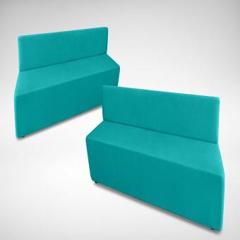 Rio Parallelogram Arm-less Sofa (Modular)