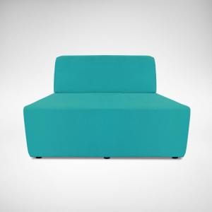 Rio Trapezium Arm-less Sofa (Modular)