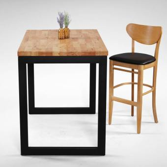 Uni Bar Table w/ Butcher Top – Customisable