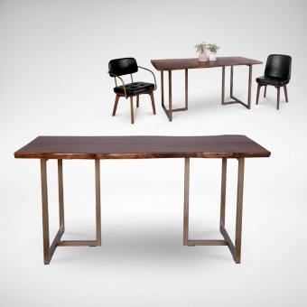 Walnut x Tee Dining Table – 1600