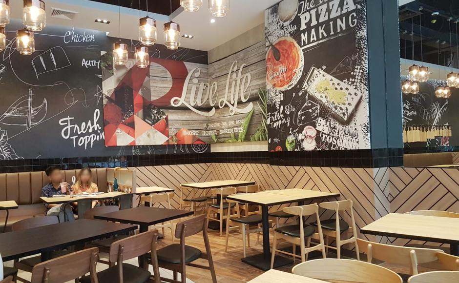 Pizza Hut - Junction City, Yangon, Myanmar | Products Seen: [Hanoi Chair & Ottawa Chair]<br />
