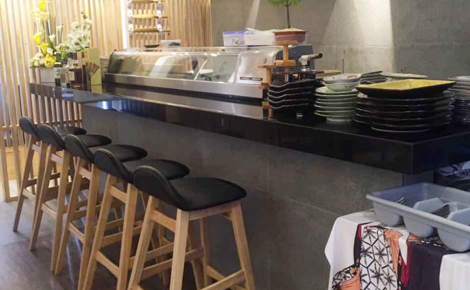The Sushi Bar - Sule Square, Yangon, Myanmar | Product Seen: [Jazz Barstool – SH750]