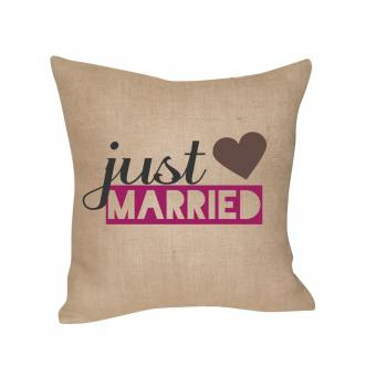 Cushion – Just Married