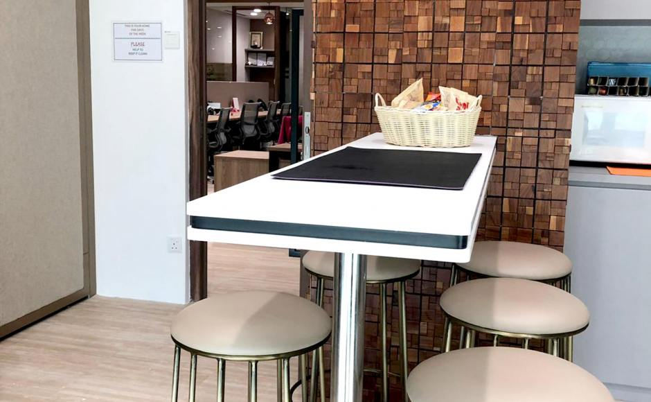 AIA Tampines - Tampines Grande| Product Seen: [Campus Barstool SH750]