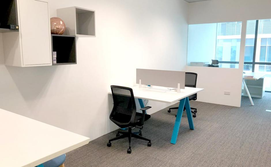 ASK Advisory Services - Paya Lebar | Product Seen: [Apex Workstation & Bingo Midback Office Chair]