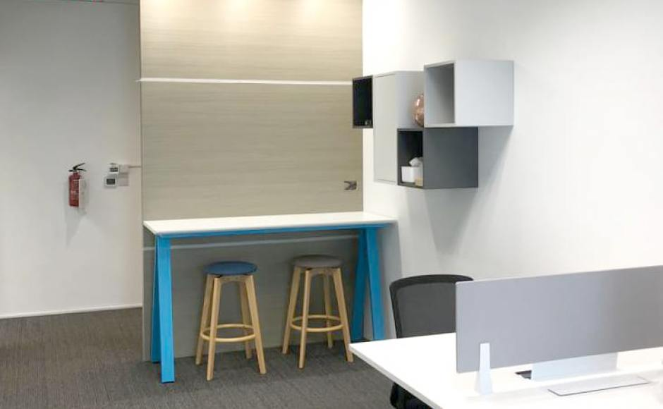 ASK Advisory Services - Paya Lebar | Product Seen: [Apex Bar Table & Obie Barstool]