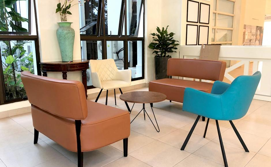 Alexandra Hospital - Alexandra Road | Product Seen: [Pious Armchair, Leopard 2–Seater Sofa & Angel Coffee Table – Big]