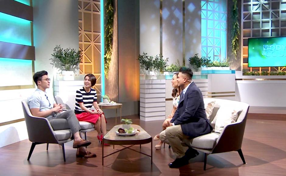 Body and Soul - Channel 5, Mediacorp| Product Seen: [Cullen 1–Seater Sofa & Cullen 2–Seater Sofa]