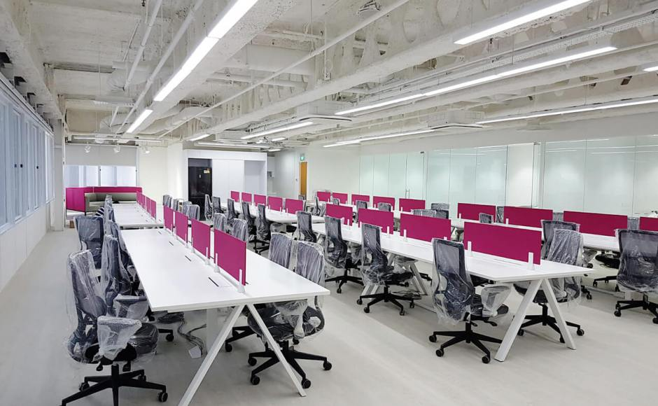 Foodpanda Singapore - Cecil Street | Products Seen: [Apex Workstation & Astrid Midback Office Chair]