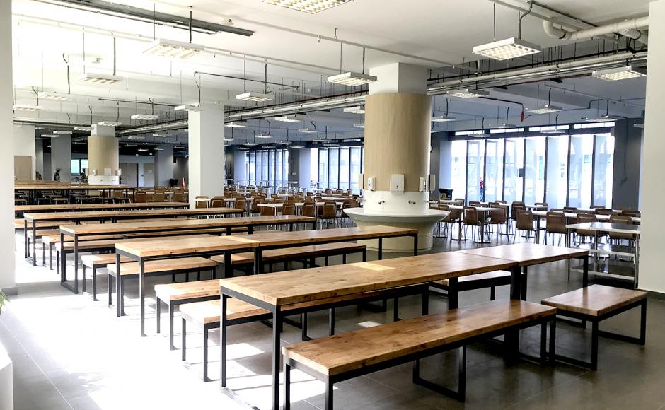 German European School Singapore | Product Seen: [Ricky Dining Table w/ Butcher Top – Customisable & Ricky Table Base – Customisable]