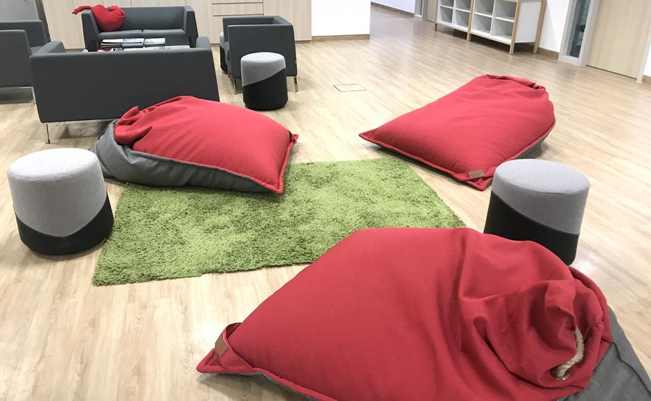 German European School Singapore | Product Seen: [Furano Beanbag – Plain, Farrer 1–Seater Sofa, Farrer 2–Seater Sofa & Yao Yao Stool]