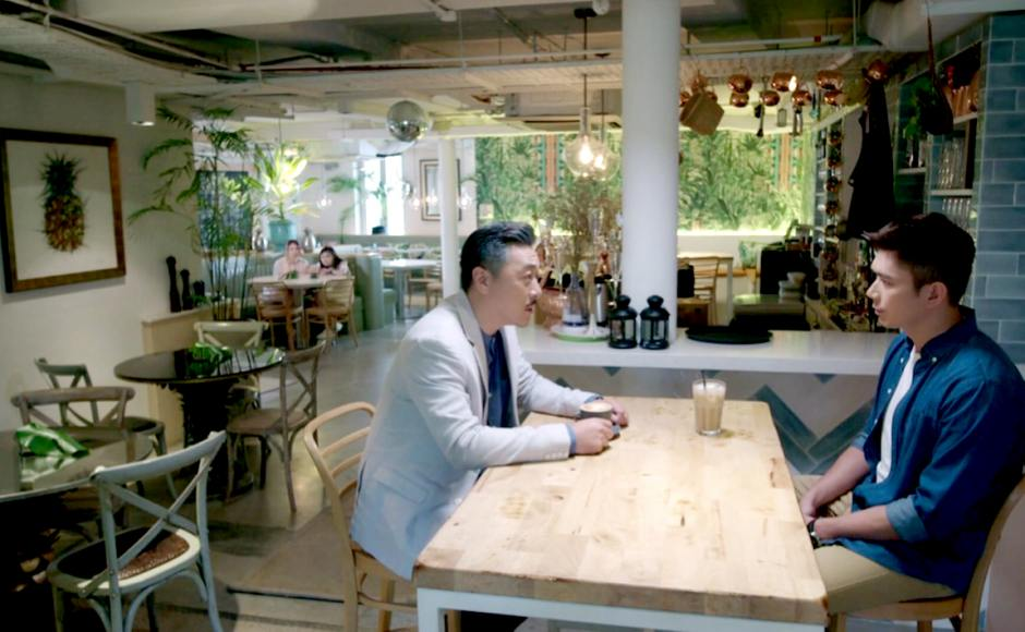 Heart to Heart - Channel 8, Mediacorp | Product Seen: [Decker Bar Table – Customisable]