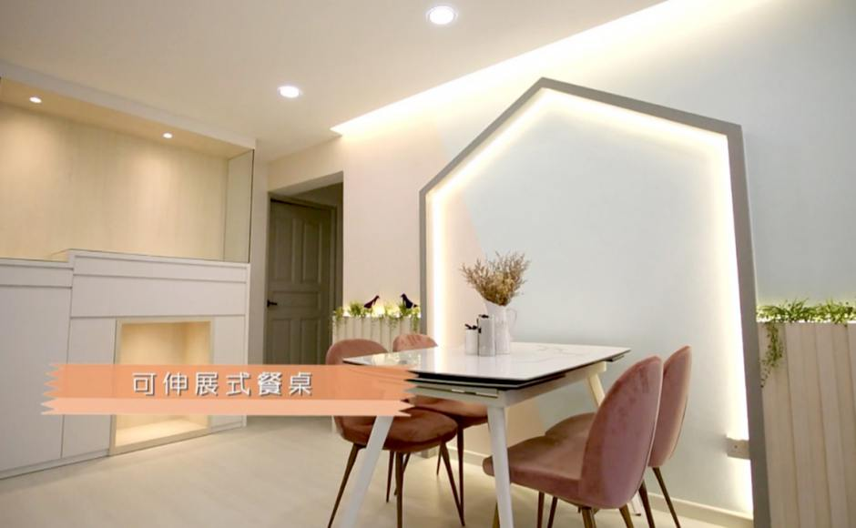 House Everything - Episode 1 - Channel 8, MediaCorp | Product Seen: [Claudia Side Chair & Durham Extendable Dining Table – W1200/1495/1790 (Ceramic)]