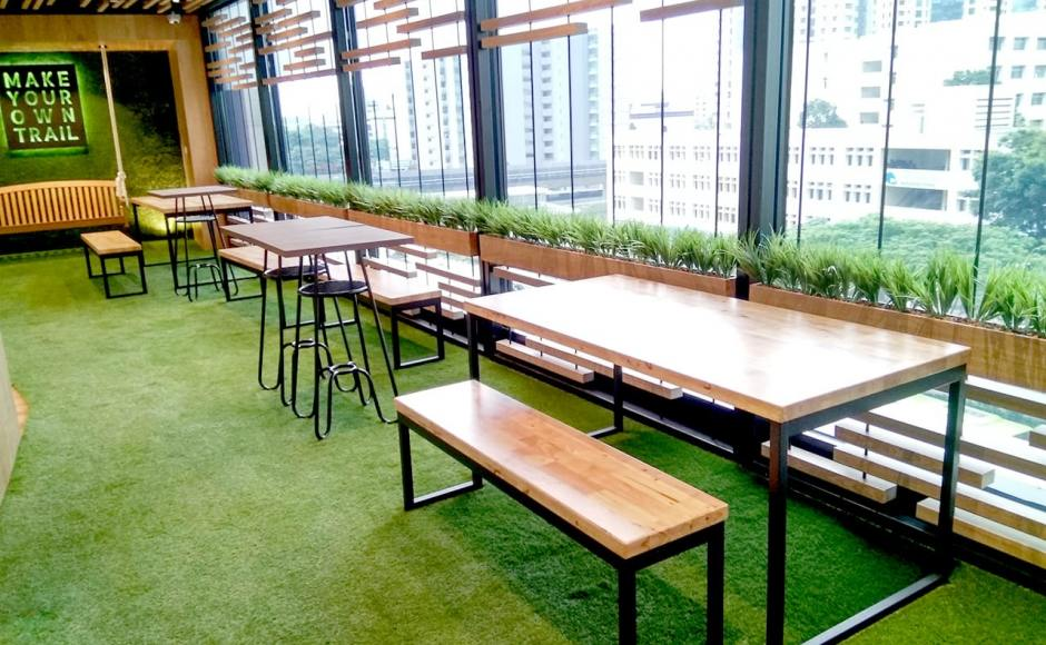 Lifelong Learning Institute - Paya Lebar | Product Seen: [Ricky Dining Table w/ Butcher Top – Customisable & Ricky Dining Bench – Customisable]