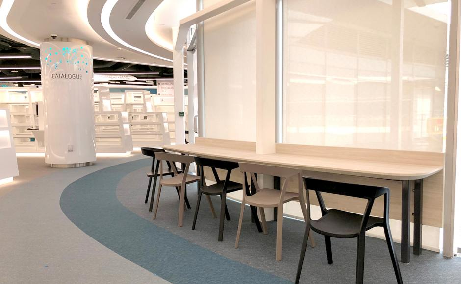 National Library Board - VivoCity | Product Seen: [Mitchell Arm chair]