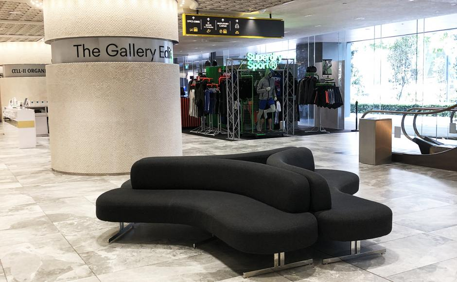 OUE Downtown | Product Seen: [Roche Sofa]