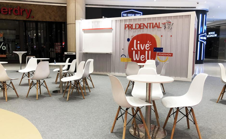 Prudential Road Show | Product Seen: [Argo – PP + Tower Chair]