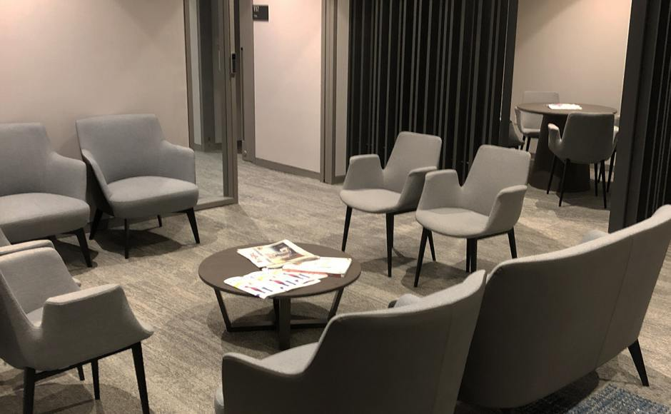 Raffles Hospital - Specialist Clinic | Product Seen: [Cullen 1–Seater Sofa, Cullen 2–Seater Sofa & Fondue Armchair]