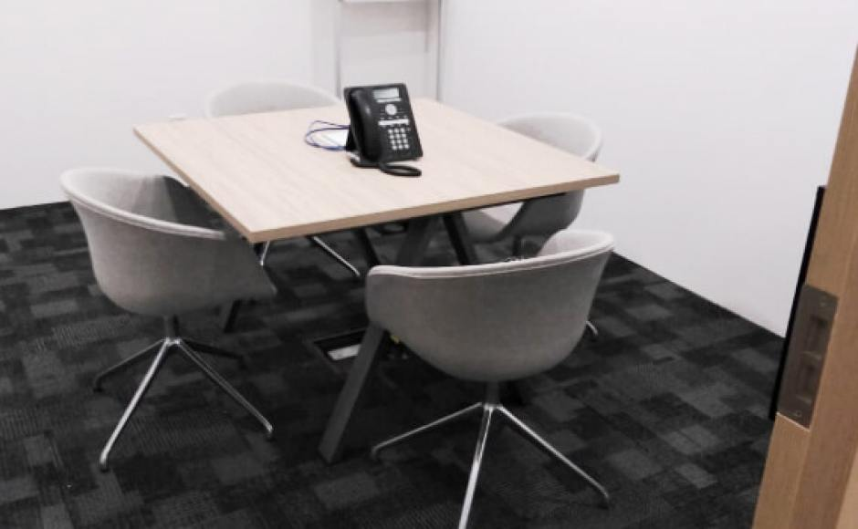Regus Singapore | Product Seen: [Blot 4Prong - Full Upholstery & Apex Conference Table]