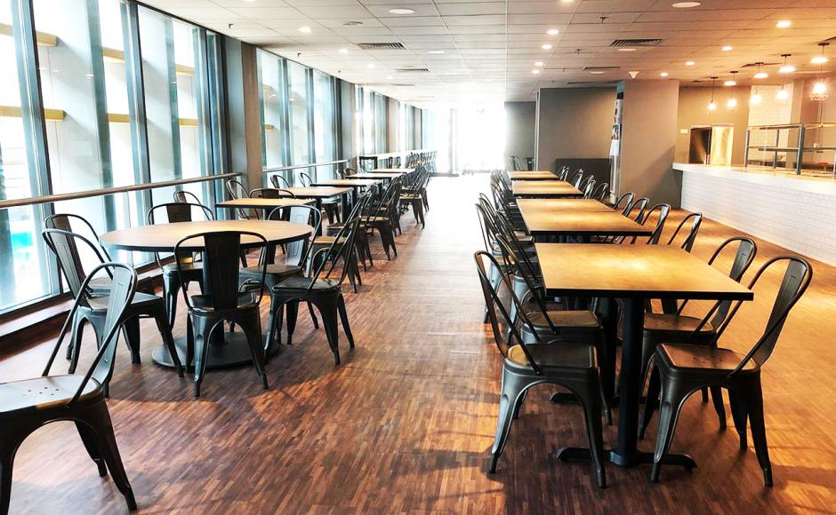 SATS Maintenance Centre - Changi North | Product Seen: Dojo Sidechair - Steel Customisable Laminated Tabletop + Filo Table Base - V2 & Cosson Table Base]