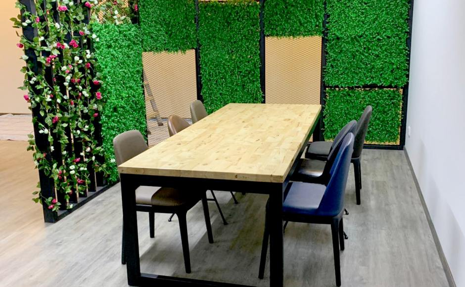 SG5 Pte Ltd - Changi South | Product seen: [Uni (flushed) Dining Table w/ Butcher Top – Customisable & Ciao Sidechair]