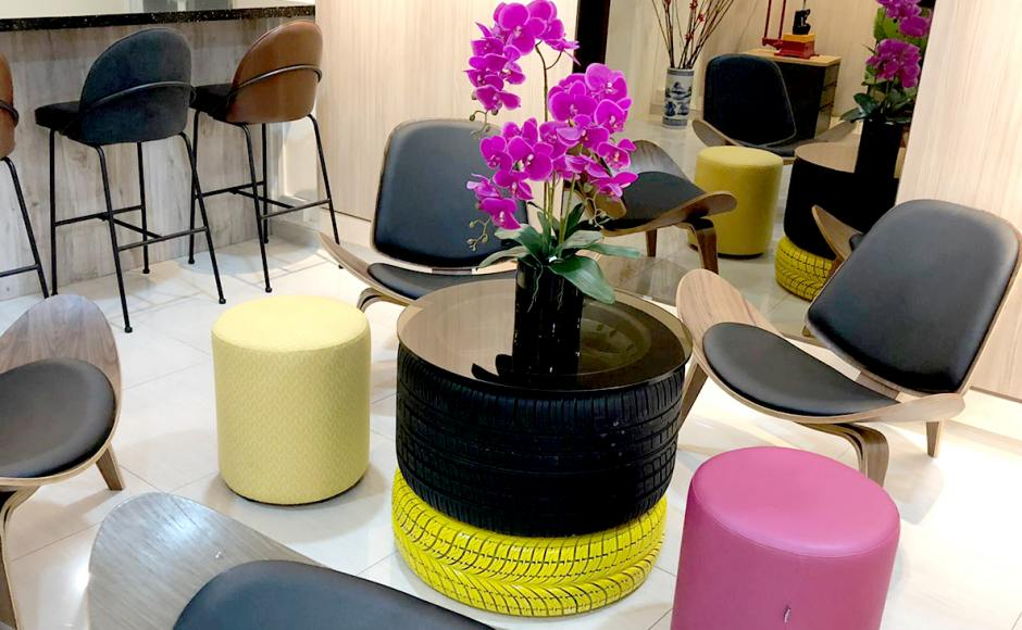 Singapore Motor Tyre Dealers Association - Geylang | Product seen: [Mosses Lounger, Novum Barchair – SH700 & Pouf Round]