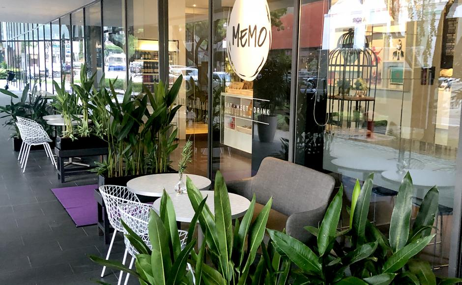 Studio M Hotel - Nanson Road | Product Seen: [Debbie Dining Bench & Wire 11 Arm Chair]