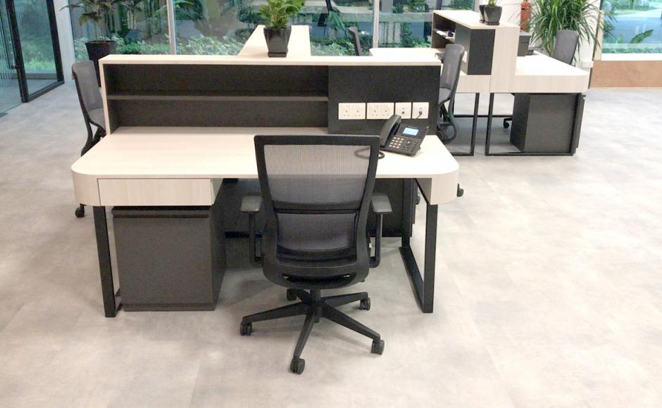 The Strategy Tower - Project by: Axis Design Studio | Product Seen: [Astrid Midback Office Chair]