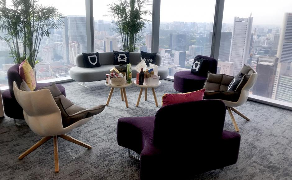 Uber - Frasers Towers | Product Seen: [Roche Sofa, Lucy Coffee Table – Small, Decree Lounger, Yin Modular Sofa & Yang Modular Sofa]