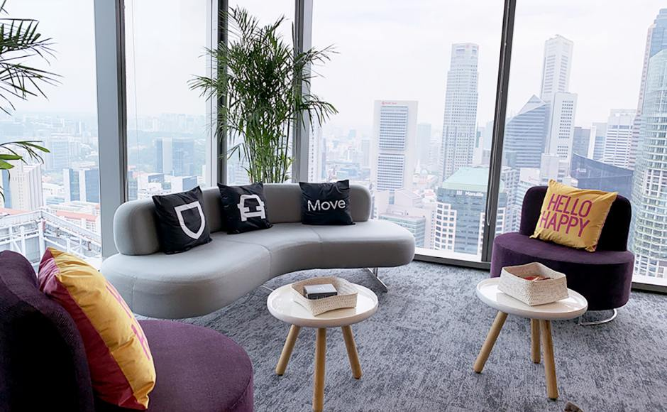 Uber - Frasers Towers | Product Seen: [Roche Sofa, Lucy Coffee Table – Small & Yin Modular Sofa]