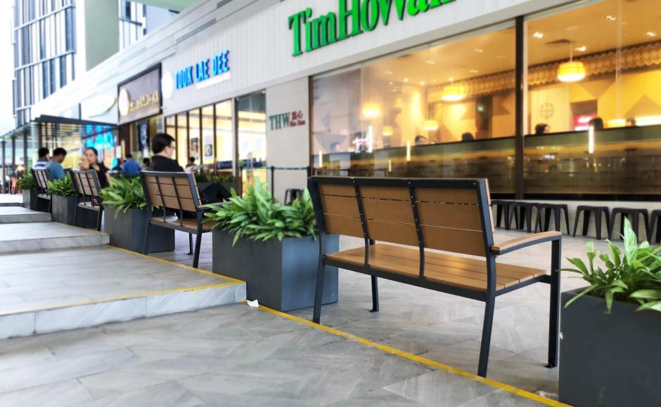 18 Tai Seng Building | Product Seen: [Fossil Outdoor Bench – Highback]