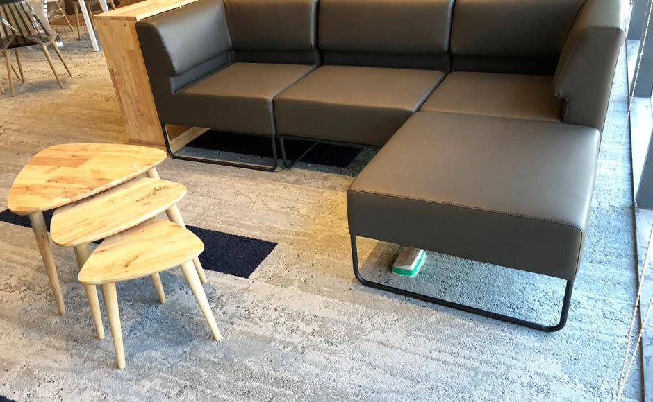 Dulwich College - Bukit Batok | Product Seen: [Owen Modular Sofa & Tempo 3-in-1 Coffee Table]<br />