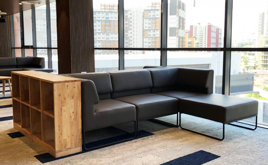 Dulwich College - Bukit Batok | Product Seen: [Owen Modular Sofa & Yoko Shelf 2x4 + Horizontal Skirting]