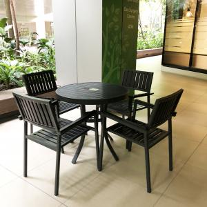 Hiro Outdoor Dining Table - Dia800