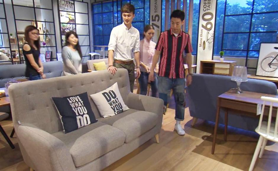 A Gift for Mum S2 - Episode 8 (Channel 8) | Product Seen: [Kayama 3–Seater Sofa, Cushion – Do What You Love & Cushion – Love What You Do]