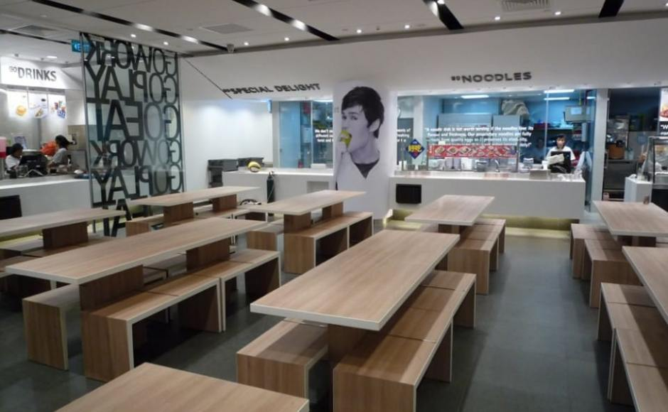 NTUC Foodfare (compilation) | Product Seen: [Panel Bench w/ Butcher Top – Customisable & Mounted Table with Hidden Steel Structure]