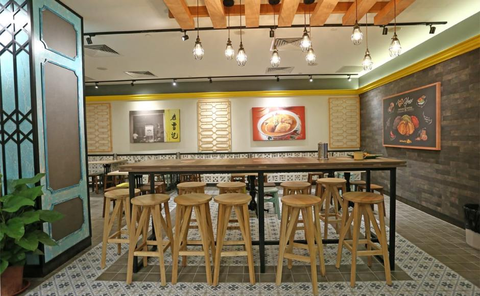 Curry Times by Old Chang Kee - Singpost Centre | Products Seen: [Kiki Barstool & Light Hang – Cage]