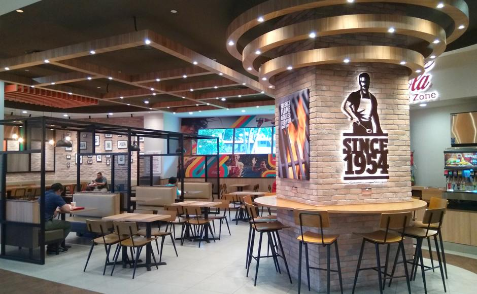 Burger King - Heart Beat Bedok | Product Seen: [Customised Side Chair, Customised High Chair & Customised Laminate Tabletop + Filo Table Base]