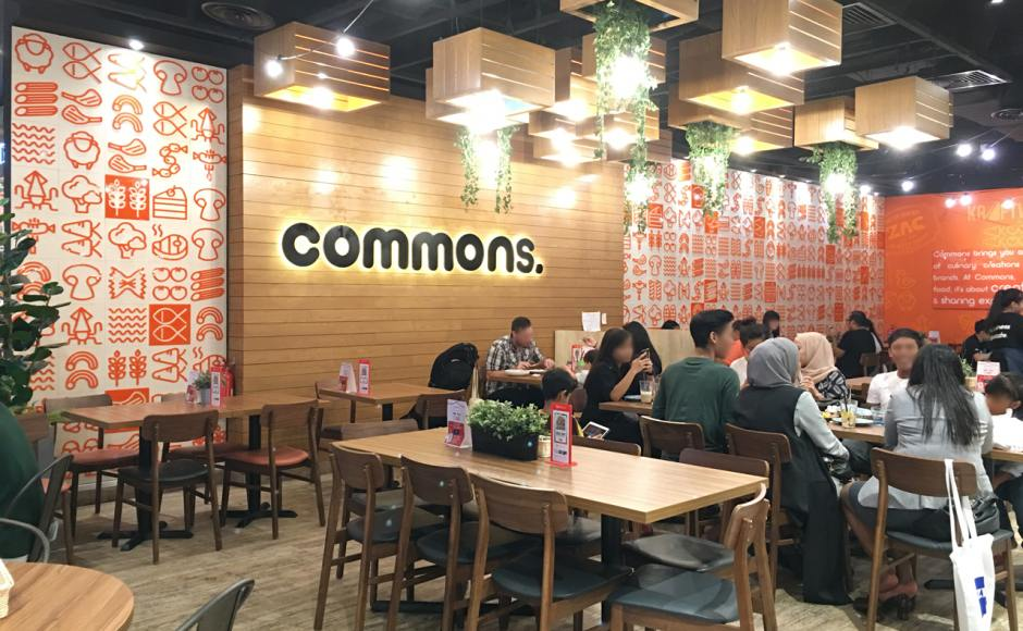 Common Grounds - Tampines Hub | Product Seen: [Ottawa Chair]