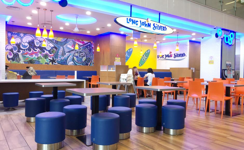 Long John Silver's - One KM | Product Seen: [Pouf Round – Stainless Steel Plate & Gina Chair]