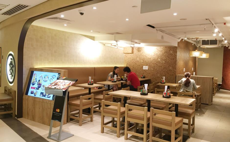 Tempura Ten Ten - Raffles City | Product Seen: [Bisha – V2 Low Stool]