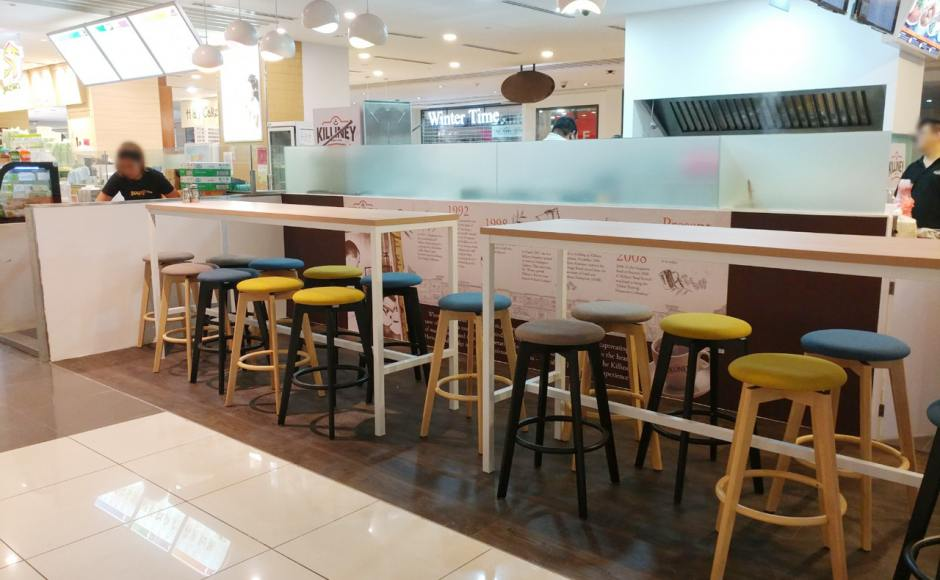 Killiney Cafe - Suntec City | Product Seen: [Decker Bar Table – Customisable & Obie Barstool]<br />
